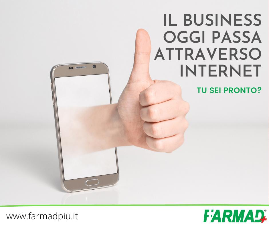 Il business oggi passa attraverso internet